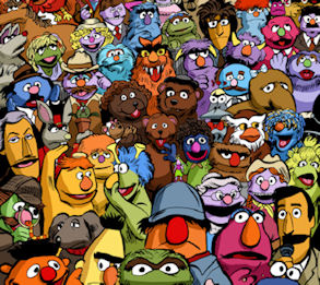 Happy 40th Sesame Street! How many of the 101 Muppets can you name? | Sachref's Weblog